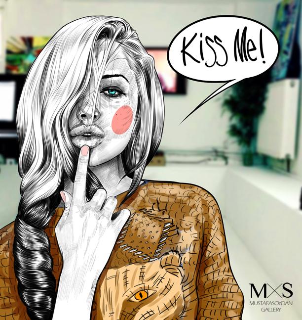 kiss me copy