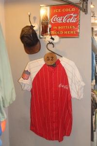 coca cola baseball shirt