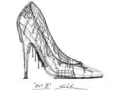 sketch hot B