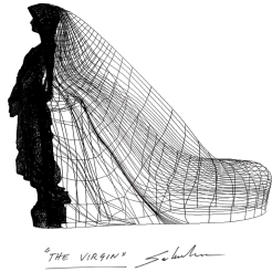 sketch the virgin